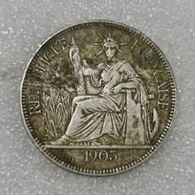 Álbum de medallas de plata auténtica para coleccionistas, envío gratis, Aliexpress, Francia, Vintage, dinero francés, regalo de Navidad
