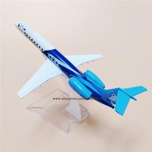 NEW 16cm Air AERO MONGOLIA ERJ145 JU-1800 Airlines Alloy Metal Airplane Model Plane Diecast Aircraft GIft(China)
