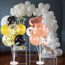 1Set Tubes Balloons Holder Column Stand  Plastic Balloon Wedding Birthday Party Baby Shower Accessories Decoration