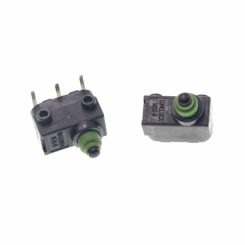 1 pc micro interruptor de botão de pressão para volkswagen j764 benz roda bloqueio esl elv micro-toque interruptor de ignição pés dobrados com clipe de metal