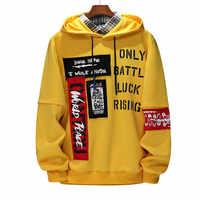 Herren Mit Kapuze Sweatshirt Große Hoodies Herbst Hoodie Langarm Männlichen Hoodie Lässige Hip Hop Sportswear Casual Sweatshirts