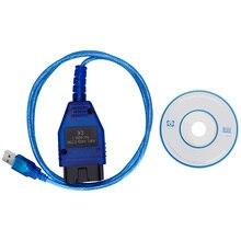 VAG409.1 Vag 409 VAG COM KKL409 OBD2 Usb Diagnose Kabel Scanner Scan Tool Interface Voor Audi Volkswagen Vw Skoda Zetel Auto