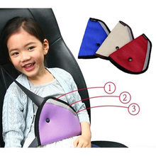 Seat Belt Car Safety Shoulder Padding Adjuster for Kids Baby Car Protection Safe Fit Soft Pad Mat Strap Cover Auto Accessories(China)