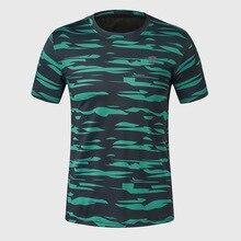 New Camoufla Mens Gym Sports T Shirt Designer Short Sleeves T-Shirt Quick Dry Training Tops & Tees Plus Size M-4XL
