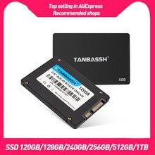 Ssd sata3 de tanbassh 120gb 128gb 240gb 512gb 1tb 60gb 2.5 hdd 2.5 disco rígido 2.5