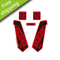 Rock Shox PIKE-pegatinas de protección de horquilla de edición limitada, calcomanías de vinilo para bicicleta de montaña, horquilla delantera, envío gratis