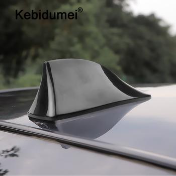 Kebidumei samochodów ciężarówka antena płetwa rekina anteny radia samochodowego anteny dachowe akcesoria samochodowe do stylizacji antena samochodowa tanie i dobre opinie OUTDOOR Auto Radio Signal Aerials Roof Antennas Car Antenna Black Silver Shark Fin Antenna Auto Radio Antennas FM Signal Aerials