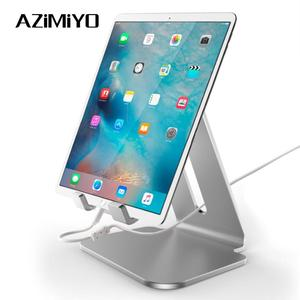 AZiMiYO Holder for ipad Portable Aluminum Tablet Stand Samsung Galaxy Tab Pro S iPad Air Surface Pro 4 Kiosk POS Stand(China)