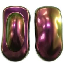 Оптический изменяющийся цвет хамелеон Пигмент Порошок для краски автомобиля, акриловый порошок для ногтей