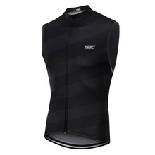 Chaleco 2020 reflective logo cycling gilet Bicycle MTB Lightweight windproof vest Mountain bycicle Clothing Back breathable mesh