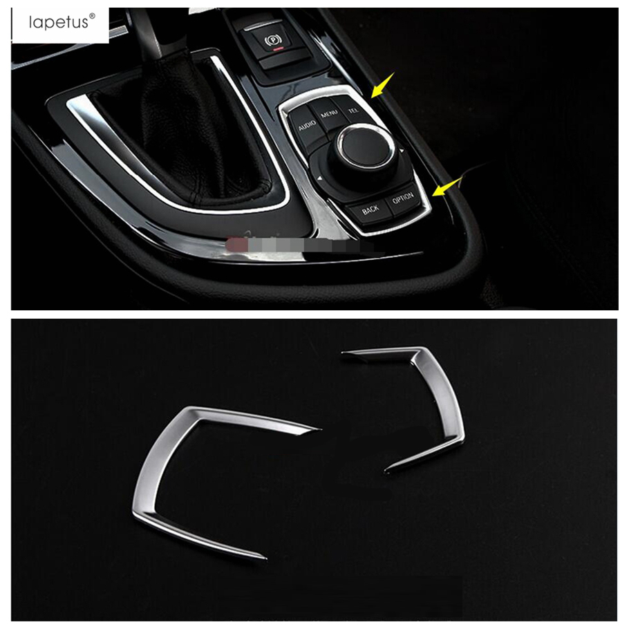 Accessories Fit For BMW 2 Series Gran Active Tourer F45 F46 2015   2019 Multimedia Button Switch Frame Molding Cover Kit Trim|Interior Mouldings|   - AliExpress