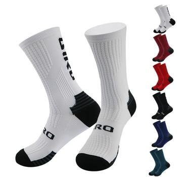 Novo 2020 esportes de compressão da bicicleta meias men mountain ciclismo meias competição profissional corrida calcetines 1