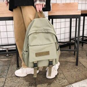 Image 3 - אופנה תרמיל ניילון נשים תרמיל נסיעות כתף תיק Bagpack לתלמידי תרמיל נער ילדה בני Backbag
