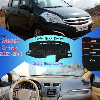 Carpet Dashboard Cover Pad Protective Pad Dashmat Avoid Light Pad for Suzuki Ertiga Proton VX-1 2012 2013 2014 2015 2016 2017-18