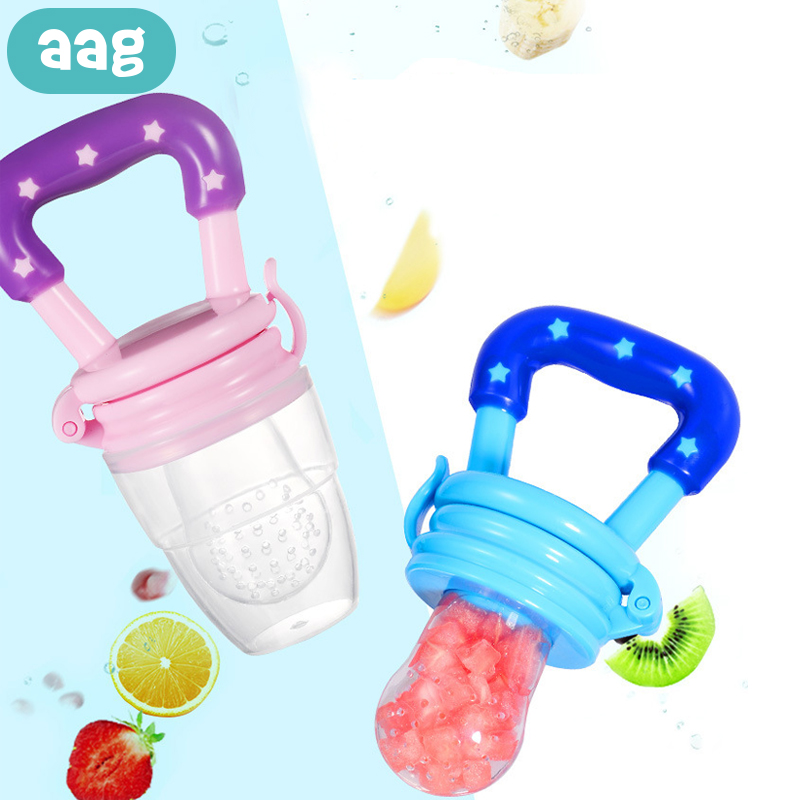 AAG Baby Silicone Teether Infant Rodent Teething Toys Baby Pacifier Pendant Massage Products Newborn Chew Molar Rod Oral Care