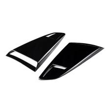 1 пара автомобиля боковое окно четверть задние жалюзи Совок боковой вентиляционный Совок Накладка для Ford Mustang 2 двери- для модели купе