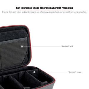 Image 4 - TELESIN Lagerung Tasche Wasserdichte EVA Fall DIY Lagerung Box für DJI OSMO Action OSMO Tasche GoPro Hero 8/7/6/5 Action Kamera