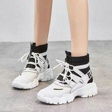 2019 Otoño Invierno nuevos zapatos de mujer coreanos de alta calidad zapatos casuales al aire libre antideslizantes zapatos deportivos mujeres zapatillas para correr C34-53