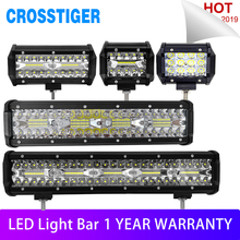 36W 60W 120W 240W 300W Combo LED Bar DRL Car Light for Tractor Boat OffRoad Off Road 4WD 4x4 Truck SUV ATV Driving