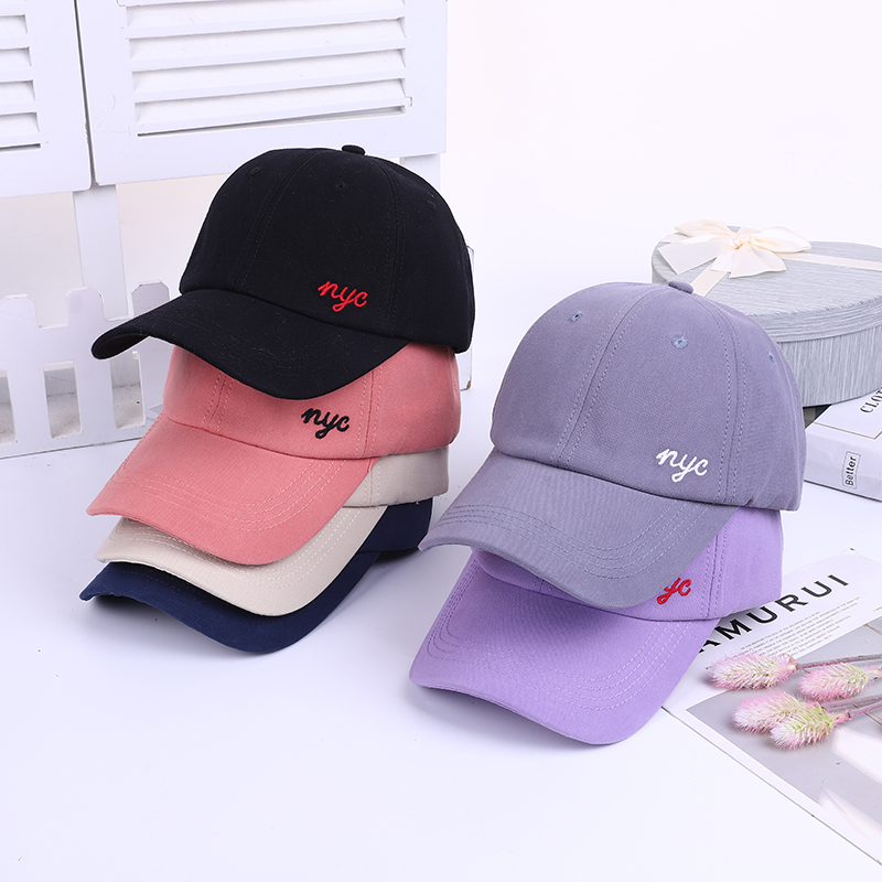 Doitbest Cotton Baseball Caps Dad Hat For Women Men Letters Embroidery Spring Sports Snapback Cap Summer Gorras Hombre Drip-Dry