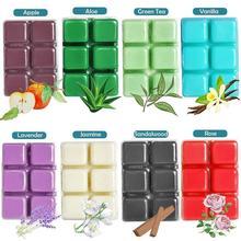 Aromatic Wax Melting Air Freshener Beauty Plant Essential Aloe Oil Wax Apple Green Sandalwood Tea Vera Aromatherapy V2R2