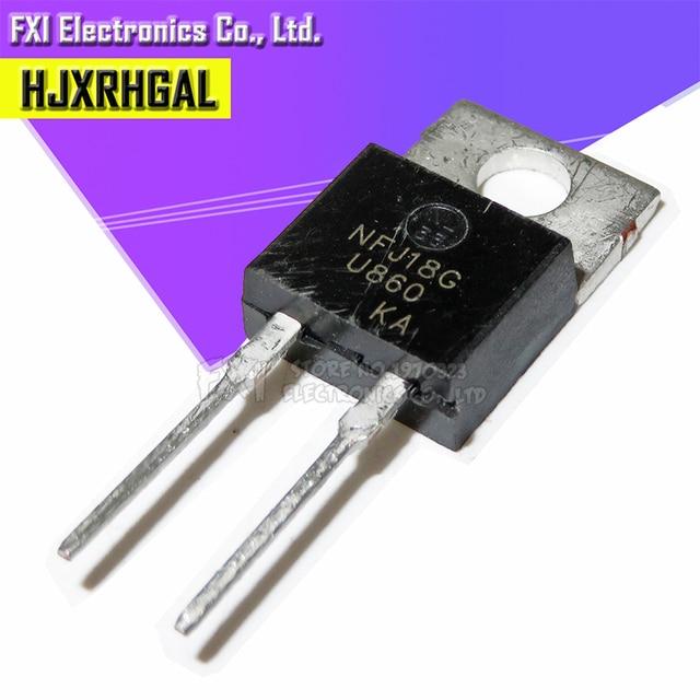 10 pièces MUR860 TO220 MUR860G TO 220 U860 redresseurs à récupération Ultra rapide Transistor nouveau original