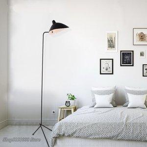 Image 3 - 北欧夜明けクモセルジュムーユフロアランプモデリング寝室産業立ちランプシンプルなリビングルーム led フロアライト器具