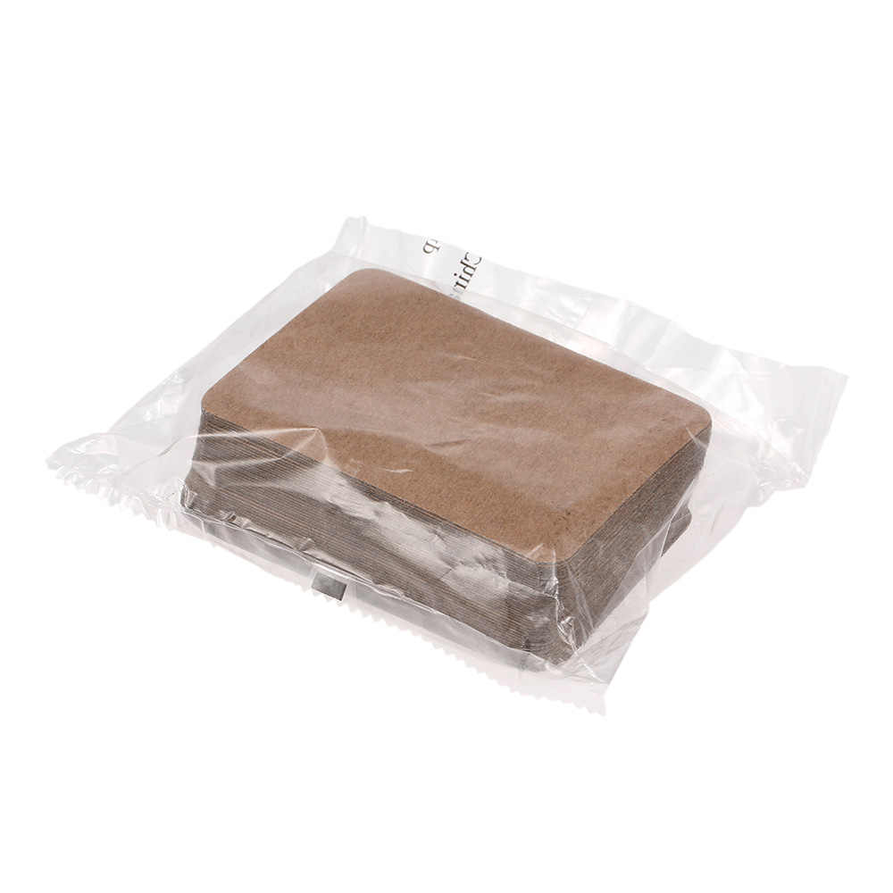 Patch gingembre plâtre médical autocollant à base de plantes autocollants de santé soulager les douleurs musculaires soulager les douleurs menstruelles et détendre le corps brun