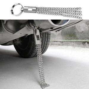 Car Universal Grounding Chain Anti-static Strip Ground Electrostatic Avoid Belt Metal Auto Grounding Belt Antistatic Wire Bar