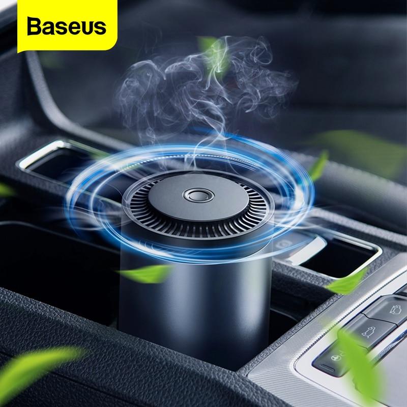 Baseus araba hava spreyi oto parfümü difüzör formaldehit arıtma Metal aromaterapi kupası araba koku koku difüzör