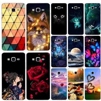 Cartoon Cute Print Soft TPU Case for Samsung Galaxy Ace 3 S7270 S7272 S7275 S7278 GT-S7270 GT-S7272 Coque Phone Case Cover image