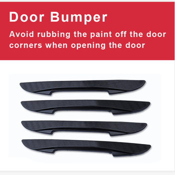 Car Door Protector Corner Bumper Guard for Mercedes W204 W210 AMG Benz Bmw E36 E90 E60 Fiat 500 Volvo S80 image