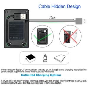 Image 4 - パロ 4 スロット USB スマート充電式バッテリー充電器 1.2V ニッケル水素ニカド Aa AAA 充電式電池