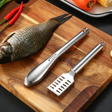 1Pcs Seafood Tools Round/Square Fish Planer Silver  Fish Scales Scraping Manual Kitchen Supplies 410 Stainless Steel