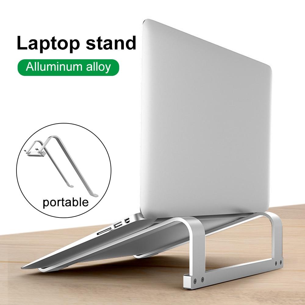 Laptop Stand Tablet Holder Aluminum Alloy Bracket Support 11-17inch Notebook