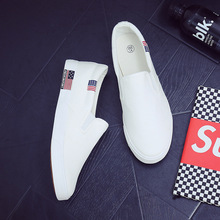 Casual Canvas Low-cut Shoes Womens Fashion Sneakers Ladies Vulcanize Shoes Plus Size Unisex Flats Slip-on Classics Skateboarding цена в Москве и Питере