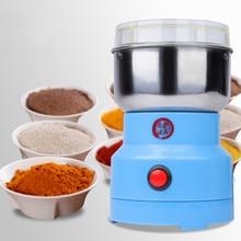 Picador de alimentos elétrico processador misturador liquidificador esmagar máquina pimenta alho tempero moedor café máquina ferramentas da cozinha