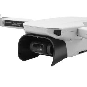 Image 3 - レンズフードアンチグレアジンバルカメラガードレンズカバーサンシェード保護カバーdji mavicミニ/ミニ2ドローンアクセサリー