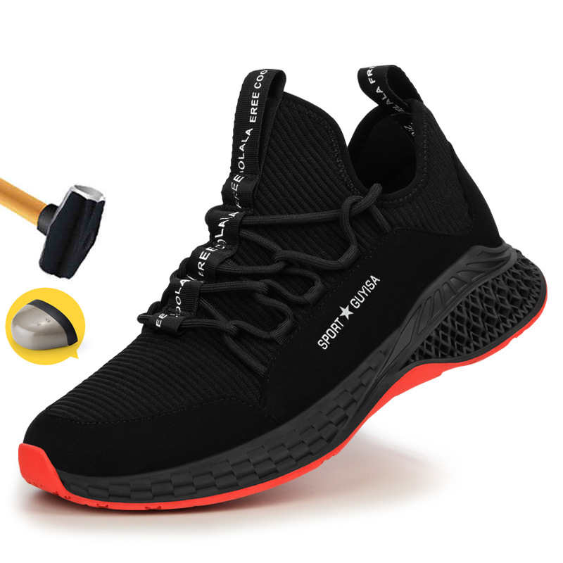 Winter New Style Work Shoes With Steel Toe Cap Indestructible Shoe Swaterproof Safety Shoes Men Steel Toe Cap Anti-smashing