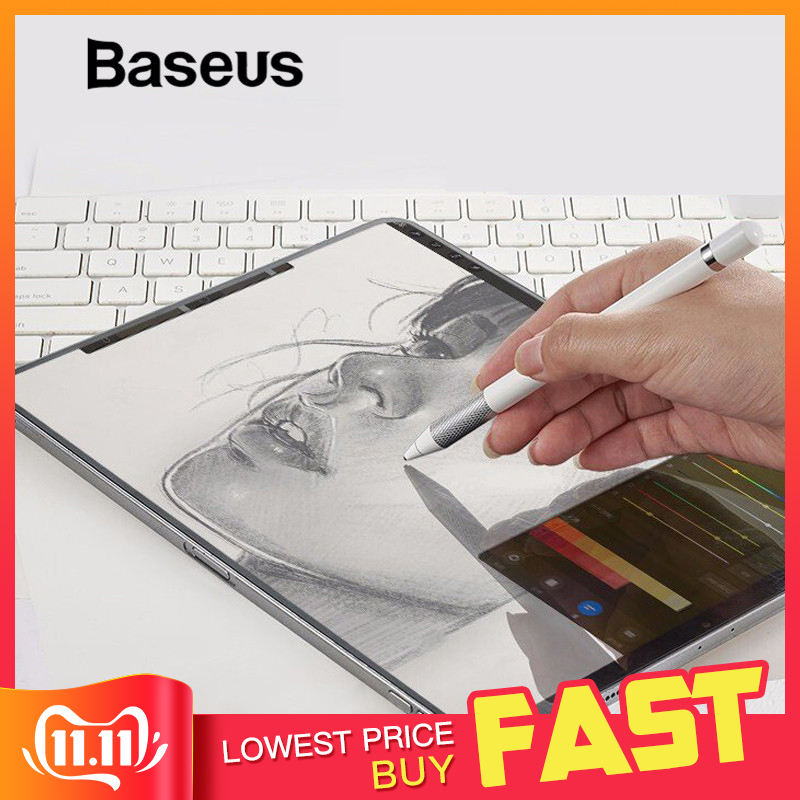 Baseus Paper Like Screen Protector For IPad Pro 12.9 11 10.5 Matte PET Anti Glare Painting Film For IPad Mini 9.7 7.9 Inch