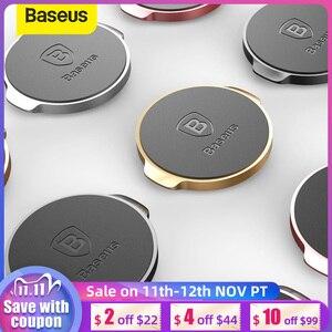 Image 1 - Baseus univeral磁気自動車電話ホルダーマグネットダッシュボードデスク壁ステッカー携帯電話ホルダースタンド
