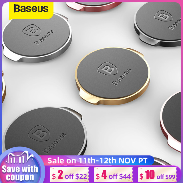 Baseus univeral磁気自動車電話ホルダーマグネットダッシュボードデスク壁ステッカー携帯電話ホルダースタンド