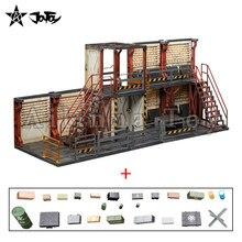 JOYTOY – 1/18 Diorama Mecha dépôt, Section observation, armes (accessoires gratuits inclus), modèle de jouet animé, livraison gratuite