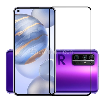 75 Pcs/Lot 2.5D Premium Tempered Glass for Huawei Honor 30 30S/View 30/View 30 Pro Full Cover Screen Protector Protective Film фото