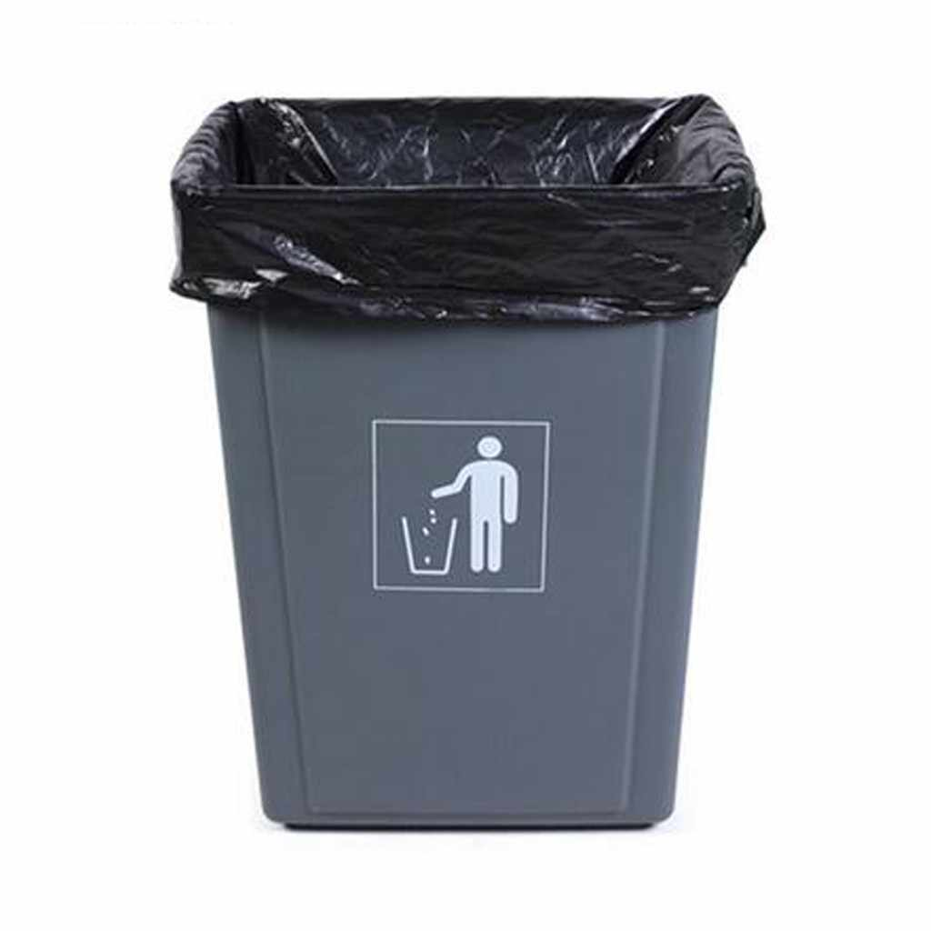 50pcs Household Disposable Rubbish Bin Liner Plastic Large Garbage ...
