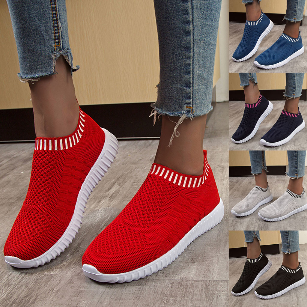 SAGACE Fashion Women Outdoor Mesh Casual Sport Shoes Runing Breathable Platform Trainers Women Tenis Feminino Shoes Sneakers #45 title=