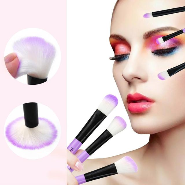 VANDER 32Pcs Makeup Brush Set W/ Bag Foundation Eye Shadows Lipsticks Powder Brushes Cosmetic Make up Brushes pincel maquiagem 3