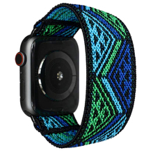 Solo loop Strap for apple watch 6 band 44mm 40mm 42mm 38mm Scrunchie Stretchy bracelet women watchband iwatch series 5 4 3 2 SE