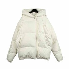 Women Solid Thick Warm Hooded Overcoat Fashion Korean Style Autumn Winter Jacket