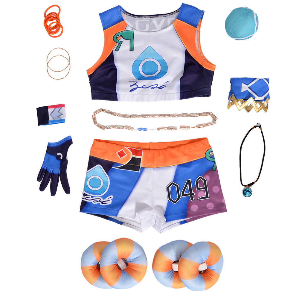 Gym Leader Nessa Cosplay Costume